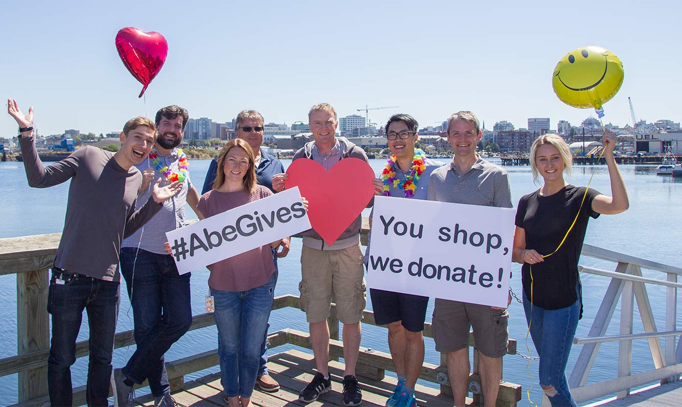 The AbeGives Team