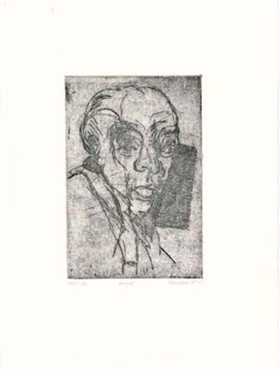 Etching: Head