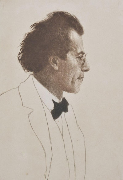 Portrait Art: Portrait of Gustav Mahler