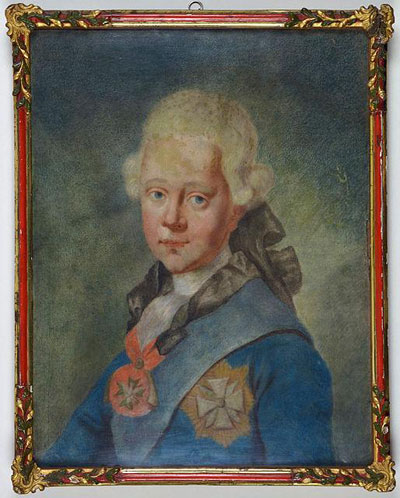 Portrait Art: Portrait of Duke Karl August of Saxe-Weimar-Eisenach