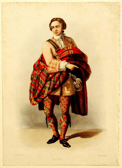 Portrait Art: The Clans of the Scottish Highlands