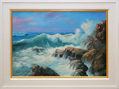Wall Art: Donegal Coast