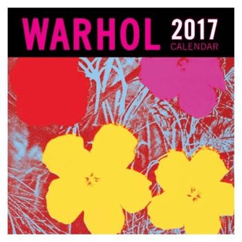 The Andy Warhol 2017 wall calendar