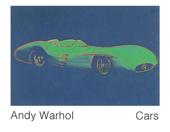 Formula 1 Car by Andy Warhol