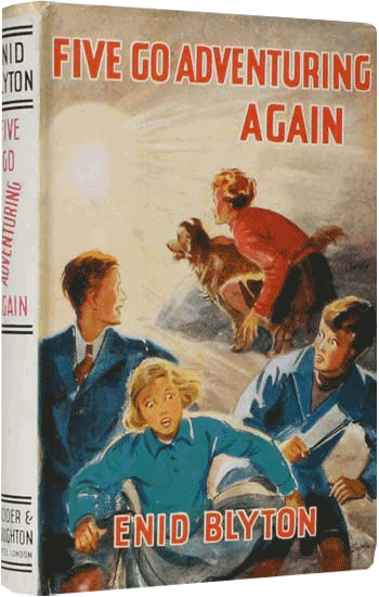 Five Go Adventuring Again Enid Blyton