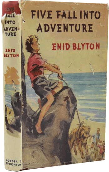 Five Fall into Adventure by Enid Blyton