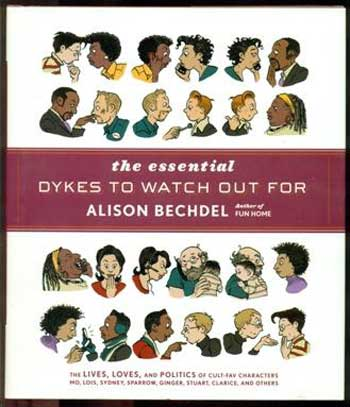 Alison Bechdel, author of Dykes to Watch Out For