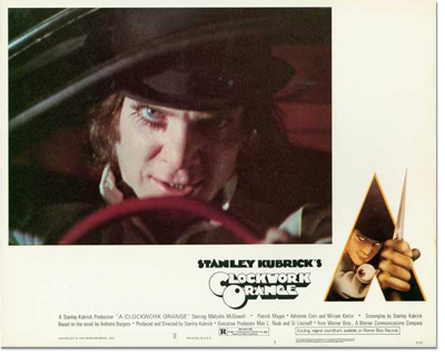Complete Lobby Card Set: A Clockwork Orange