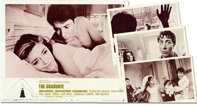The Graduate: Complete Lobby Card Set
