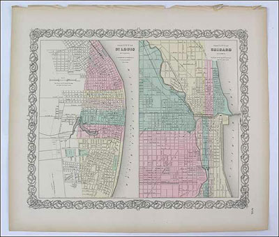 St. Louis and Chicago Street Plans