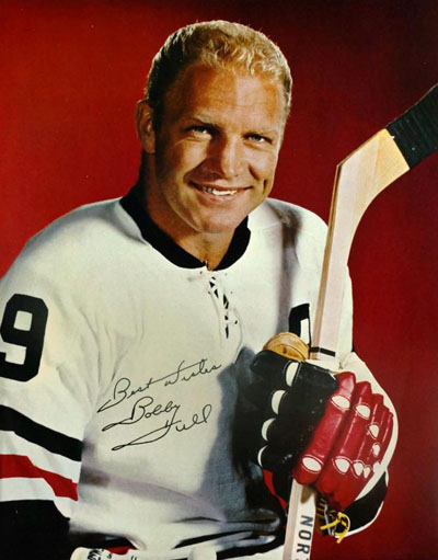 Promotional Photograph of Bobby Hull