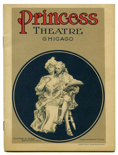 Vintage Theater Program