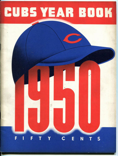 Chicago Cubs Baseball Yearbook