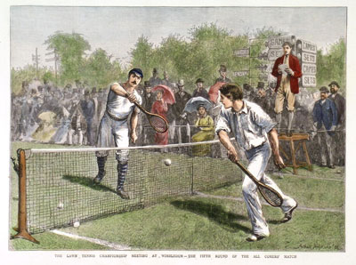 The Lawn Tennis Championship Meeting at Wimbledon