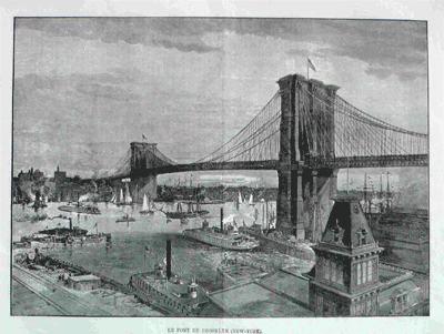 Le Pont De Brooklyn 1890