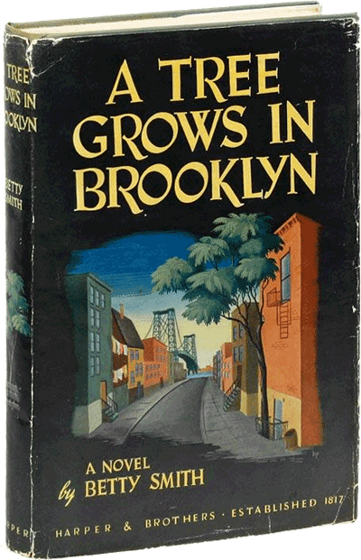 A Tree Grows in Brooklyn by Betty Smith, signed, first edition