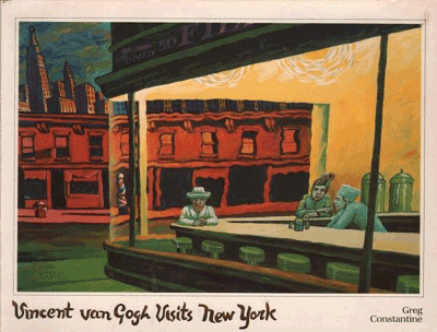 Vincent Van Gogh Visits New York - 1983