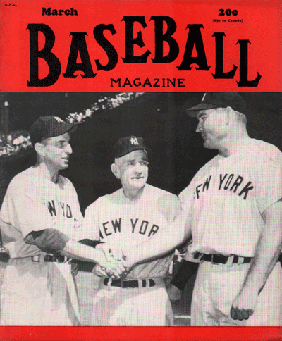 Baseball Magazine March 1950