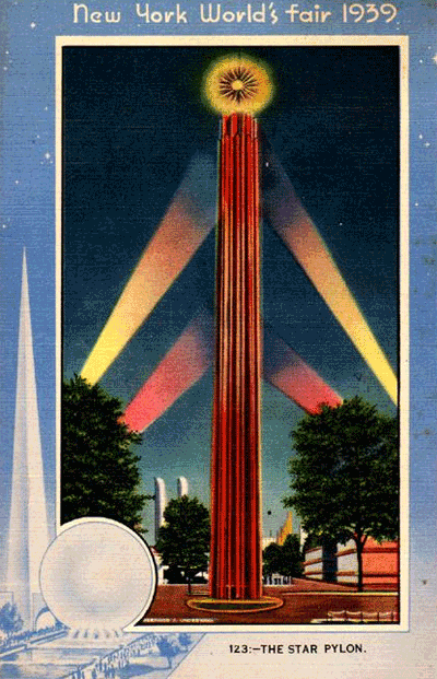 Postcard from New York World's Fair 1939