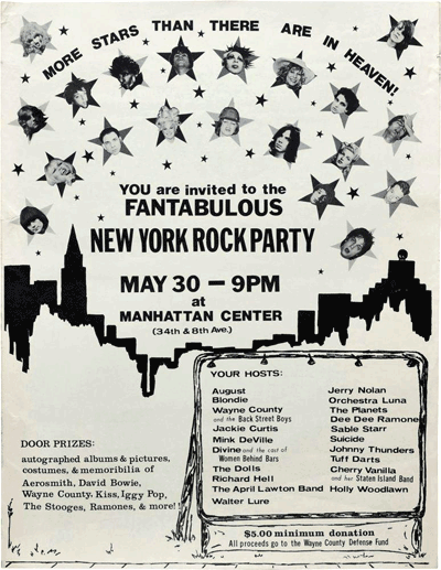 Fantabulous New York Rock Party