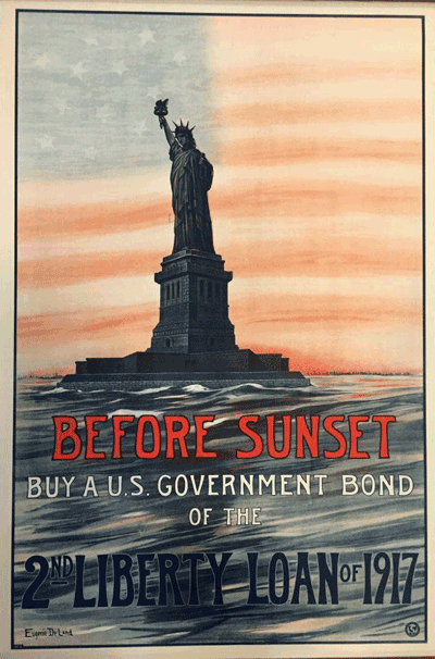 Before Sunset Buy a U.S. Government Bond of the 2nd Liberty Loan of 1917