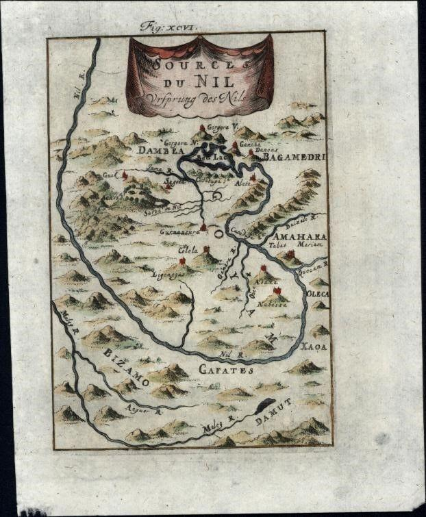 Source of the Nile 1719