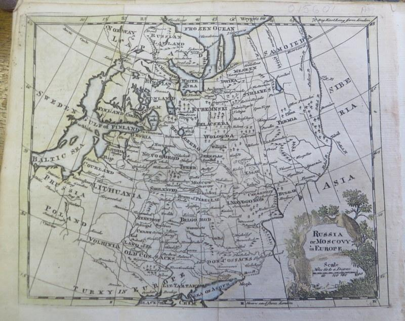 Map of Muscovy 1777