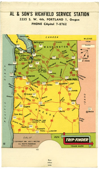 Trip-Finder for Oregon and Washington