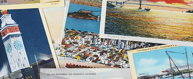 Collecting Vintage Postcards