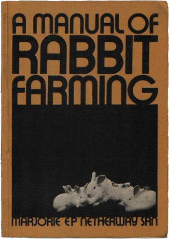 A Manual of Rabbit Farming
