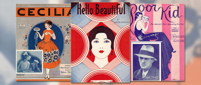 Collecting Vintage Sheet Music