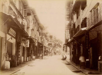 Four photos of Hong Kong circa 1890.