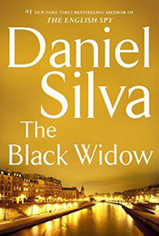The Black Widow, signed by Daniel Silva