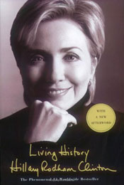Living History, signed by Hillary Clinton