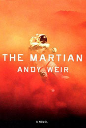 The Martian, signed by Andy Weir
