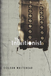 The Intuitionist, signed by Colson Whitehead