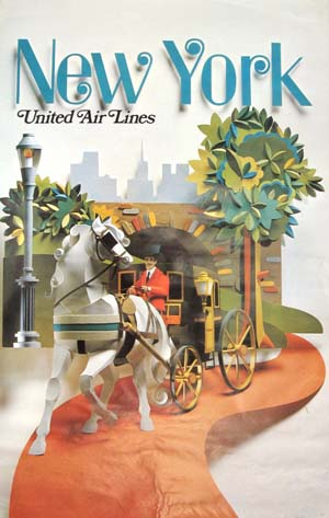 United Air Lines New York 1971
