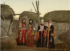 Four Tartar women
