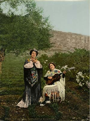 Two women in Seville
