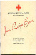 Red Cross Jam Recipe Book by Mrs. F. Allen Box