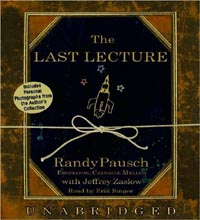 The Last Lecture by Randy Pausch Audio CD