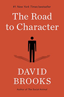 Discounted copies of The Road to Character by David Brooks
