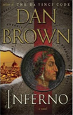 Discounted copies of Inferno by Dan Brown