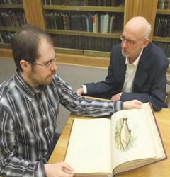 Justin discusses his collection with John H. Meier Jr. of the W.A. Deacon Literary Foundation