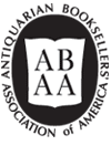 Logo of the Antiquarian Booksellers Association of America