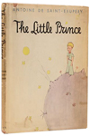 Inscribed first edition of The Little Prince