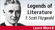legend of literature F. Scott Fitzgerald