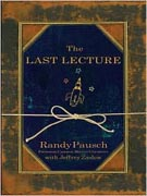 Large Print Books like The Last Lecture by Randy Pausch