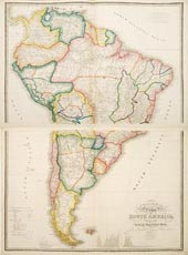 Colombia Prima or South America by James Wyld 1853
