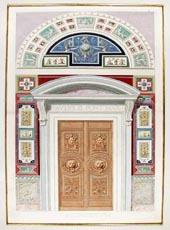 Doorway to Vatican Loggia, by Raffaello Sanzio d'Urbino 1772